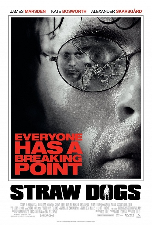 Соломенные псы / Straw Dogs [2011 / Триллер, драма, криминал / BDRip 720p] DUB+SUB