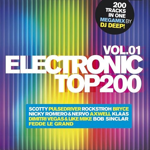 VA / Electronic Top 200 vol. 1 [2014] MP3
