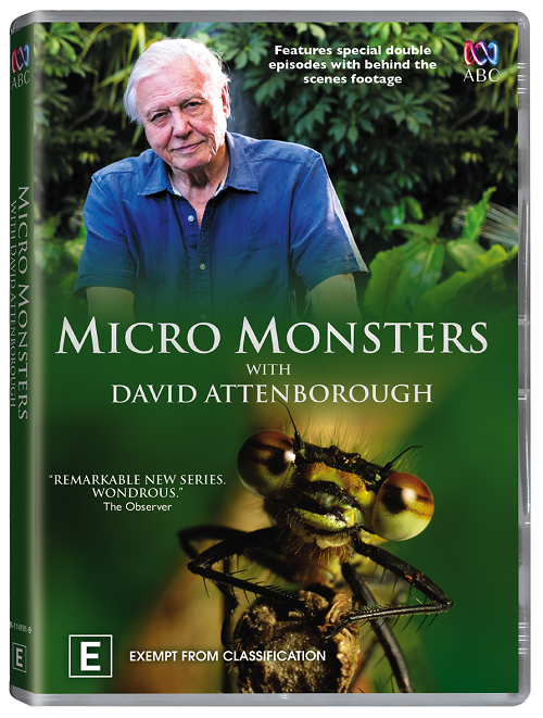 Микро Монстры с Девидом Аттенборо / Micro Monsters with David Attenborough (Серии 01-06 из 06) (3D Video) [2013 / Документальный / BDrip 1080p / Half OverUnder] VO («Омикрон») by Ash61