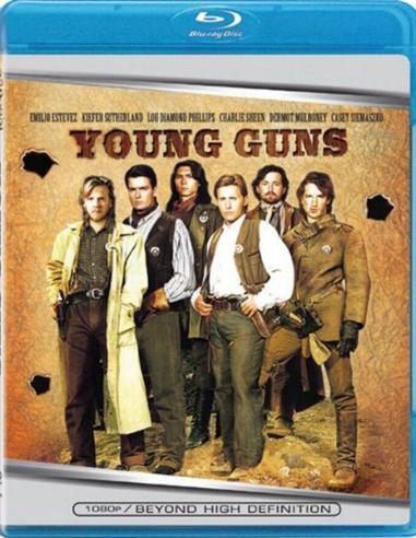 Молодые стрелки / Young Guns [1988 / боевик, триллер, драма, криминал, вестерн / BDRip] DVO+AVO+Original