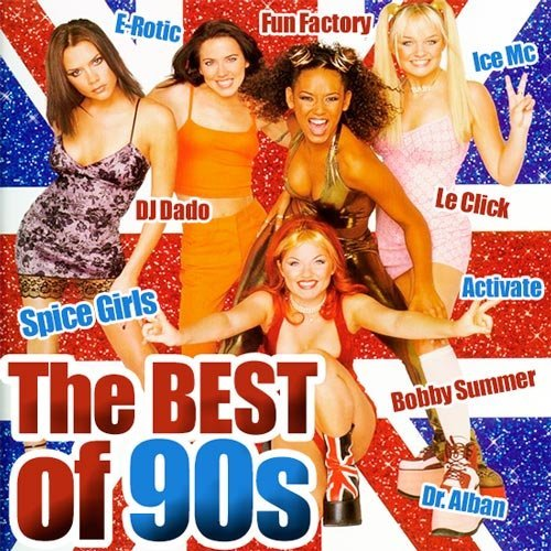 VA / The Best of 90s Vol.1-4 (2014)