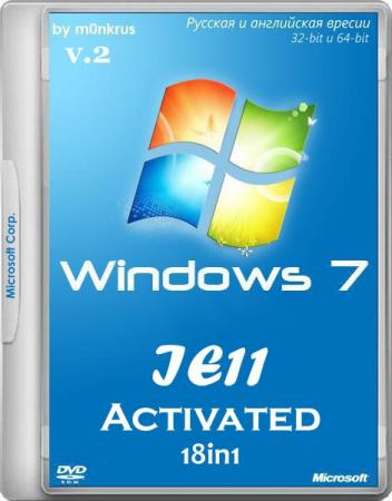 Windows 7 SP1 IE11 18in1 Activated [v.2 11.2014 [6.1.7601.17514]] [2014] by m0nkrus