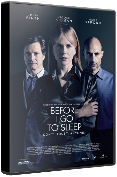 Прежде чем я усну / Before I Go to Sleep [2014 / Триллер, детектив, драма / WEB-DLRip] DUB (iTunes)