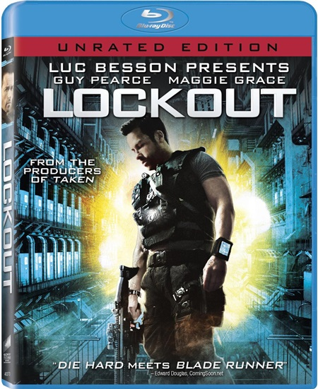 Напролом (Расширенная версия) / Lockout (Extended Cut) [2011 / фантастика, боевик, триллер / BDRip] DUB (лицензия)