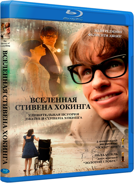 Вселенная Стивена Хокинга / Теория всего / The Theory of Everything [2014 / драма, мелодрама, биография / HDRip] DUB (лицензия) + AVO (А.Матвеев)