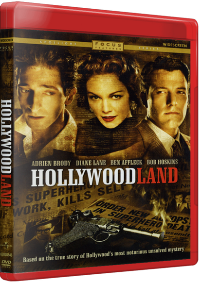 Смерть супермена / Голливудлэнд / Hollywoodland [2006 / триллер, драма, мелодрама, криминал, детектив, биография, история / BDRip 720p] 2хMVO + AVO + SUB