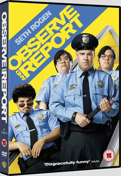 Типа крутой охранник / Observe and Report [2009 / драма, комедия, криминал / BDRip] МVO (лицензия)