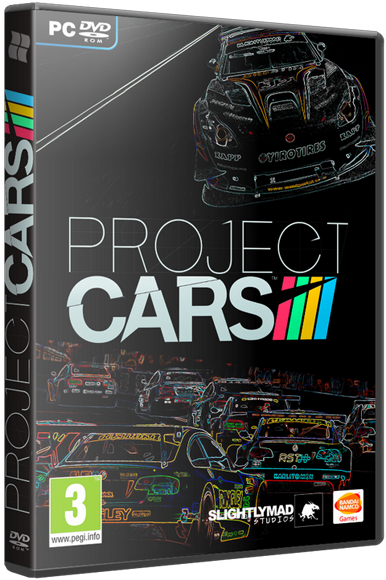 Project CARS [Update 2] (v1.0.1.3) [2015 / Racing, Cars, Simulator, 3D / ENG] РС | RePack от R.G. Catalyst