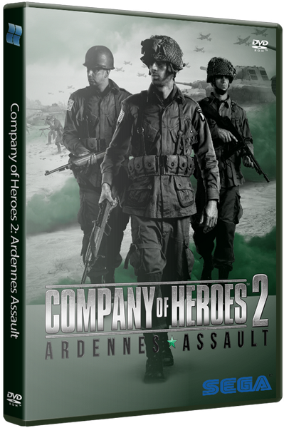Company of Heroes 2: Ardennes Assault [v 4.0.0.19545 + DLC's] [2014 / Action, RTS / RePack] PC от xatab