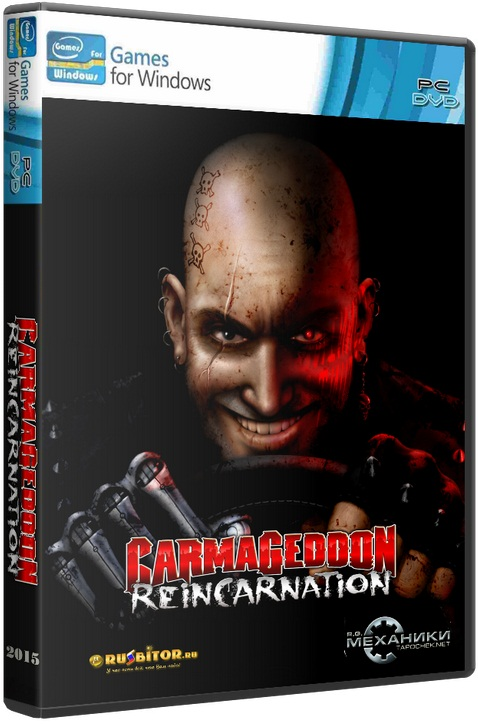 Carmageddon: Reincarnation [2015 / Arcade, Racing, Cars, 3D / RePack] PC by R.G. Механики