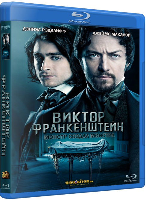 Виктор Франкенштейн / Victor Frankenstein [2015 / Ужасы, фантастика, драма / BDRip 720p] DUB+SUB (Лицензия)
