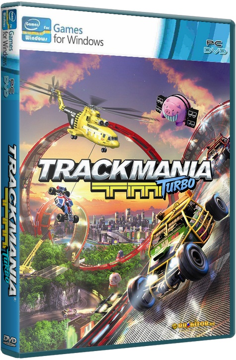 Trackmania Turbo [2016 / Arcade, Racing (Cars), 3D / RePack] PC | от XLASER