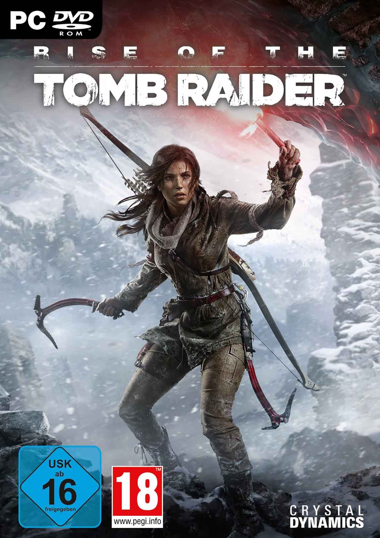 Rise of the Tomb Raider [2016 / Action / 3D / 3rd Person / Лицензия (Steam-Rip)]