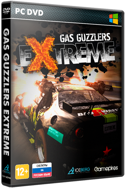 Gas Guzzlers Extreme: Gold Pack [v.1.8.0 + DLC] [2013 / Arcade / Racing (Cars) / 3D / RePack] от xatab