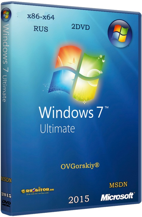 Windows 7 Ultimate [6.1.7601.17514 Service Pack 1 Сборка 7601] [2016][1DVD] by OVGorskiy