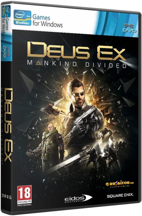 Deus Ex: Mankind Divided - Digital Deluxe Edition [2016 / Action, Shooter, RPG, 3D, 1st Person, 3rd Person, Stealth / RePack] РС от xatab