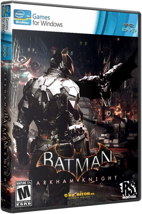Batman: Arkham Knight - Premium Edition [2015 / Action, 3D, 3rd Person, Stealth / Лицензия] PC | Лицензия