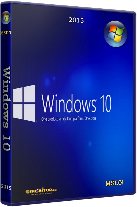 Windows 10 Pro [14393.479 rs1] [2016] [2DVD] by Lopatkin