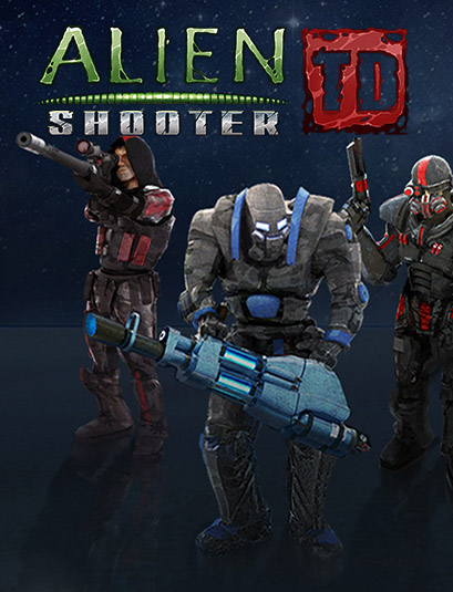 Alien Shooter TD [2017 / Violent, Gore, Action, Indie, Strategy / Цифровая лицензия (Steam-Rip)] PC | от R.G. Игроманы