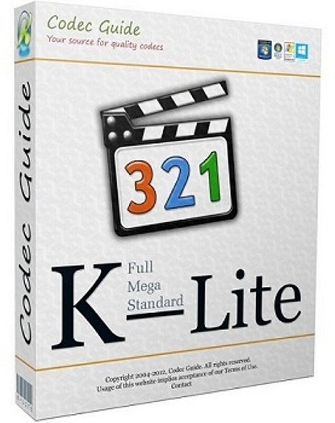 K-Lite Codec Pack [12.8.0 + Update] [2017] PC