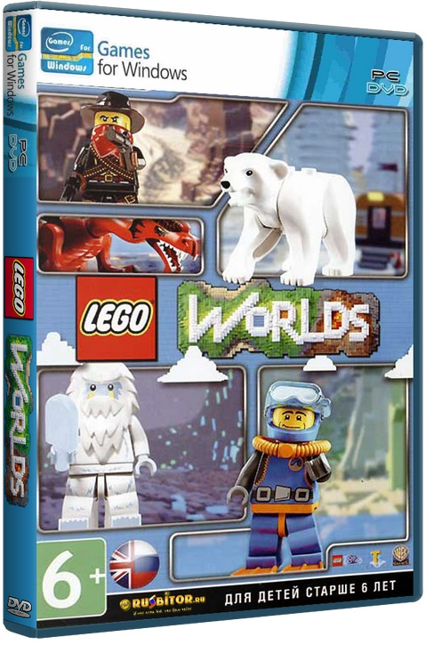 LEGO Worlds [2017 / Action, Exploration, Open world, Sandbox, Third-person, 3D / RePack]