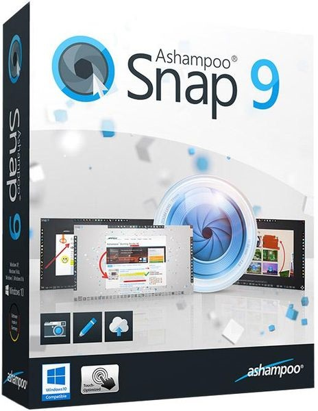 Ashampoo Snap 9.0.5 [DC 20.01.2017] (2017) PC | RePack & Portable by Pilot