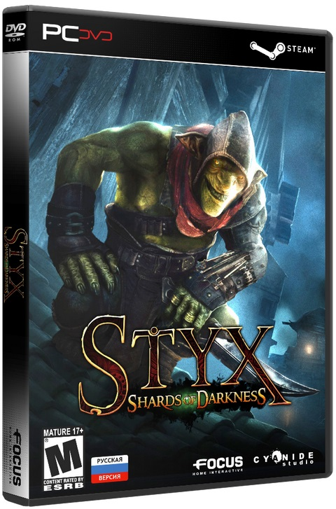 Styx: Shards of Darkness [v1.02] [2017 / Action, 3D, 3rd Person, Stealth / SteamRip]
