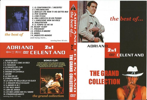 Adriano Celentano - The best of [The grand collection] [2000 / Italo-disco, pop, world / DVDRip]