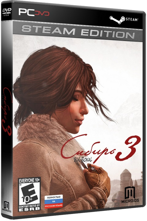 Сибирь 3 / Syberia 3: Deluxe Edition (2017/PC/Русский) | RePack от R.G. Механики