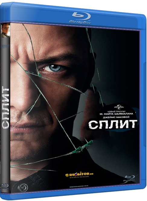 Сплит / Split [2016 / Ужасы, триллер / BDRip 1080p] DUB+SUB (Лицензия)