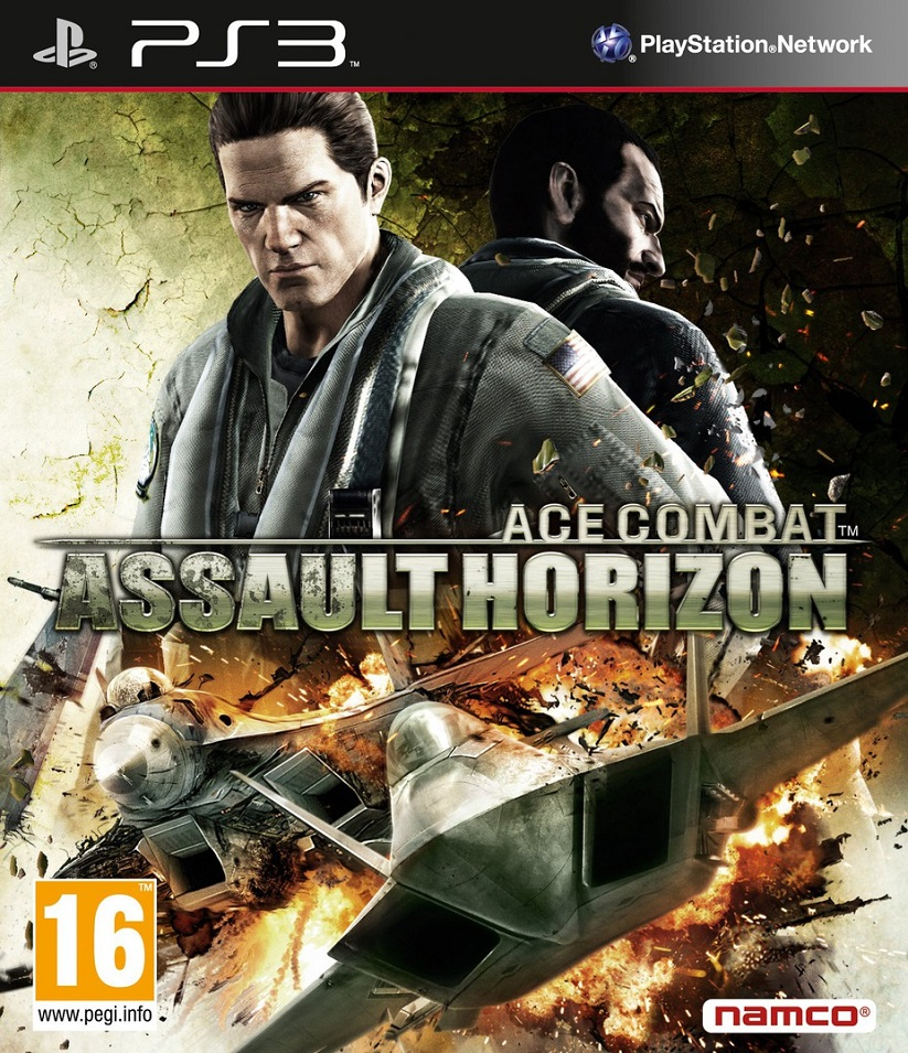 Ace Combat: Assault Horizon [2011 / Combat Flight Simulator / FULL] [PS3]