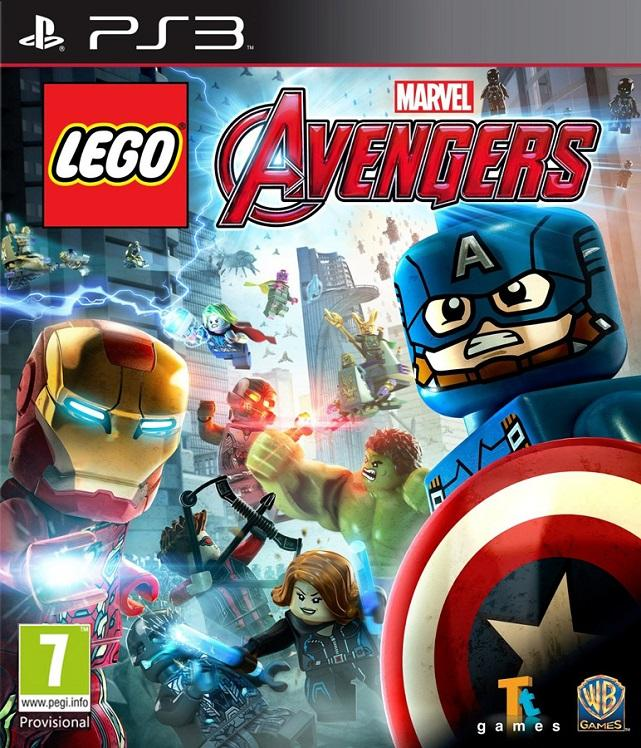 LEGO Marvel Мстители / LEGO Marvel's Avengers [2016 / Arcade / FULL] [PS3]