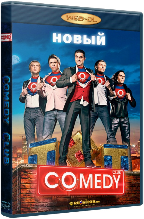 Новый Comedy Club. Mix.Language [от 14.07] [2017 / ТВ-шоу, юмор / WEB-DL 720p]
