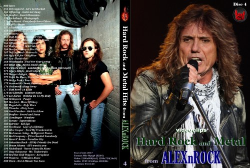 Сборник клипов / Hard Rock and Metal: Part 4 [2017 / Rock, Metal / DVDRip] от ALEXnROCK