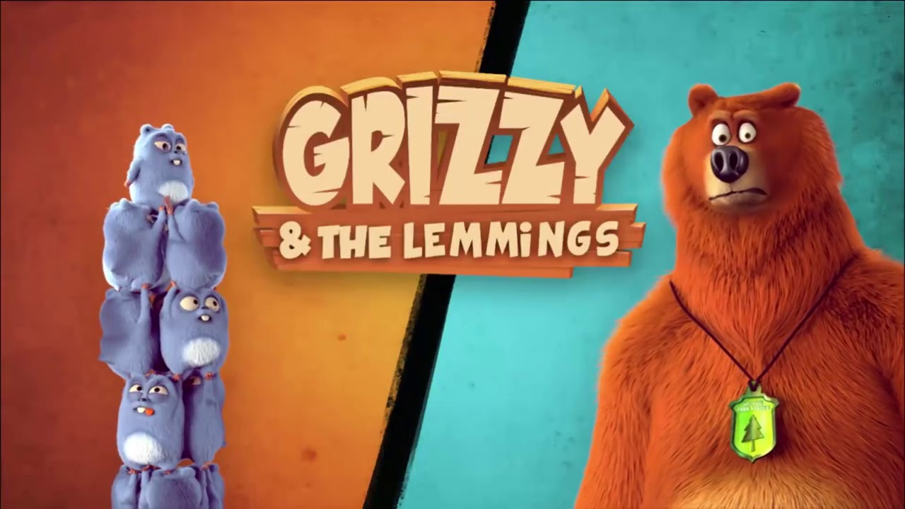Гризли и лемминги.Grizzy and the Lemmings(2016-2019). SATRip
