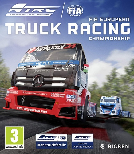 FIA European Truck Racing Championship [2019 / Racing, Simulation, Sports Games / Лицензия]