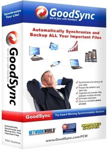 GoodSync Enterprise [10.11.9.9 Portable] [2020]