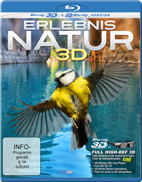 Изучая природу / Erlebnis Natur / Experience Nature (3D Video)  [2012 / Документальный / BDrip 1080p / Half OverUnder]
