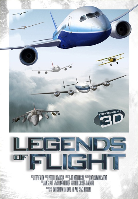 Легенды неба / Legends of Flight (3D Video)  [2012 / Документальный / BDrip 1080p / Half OverUnder]