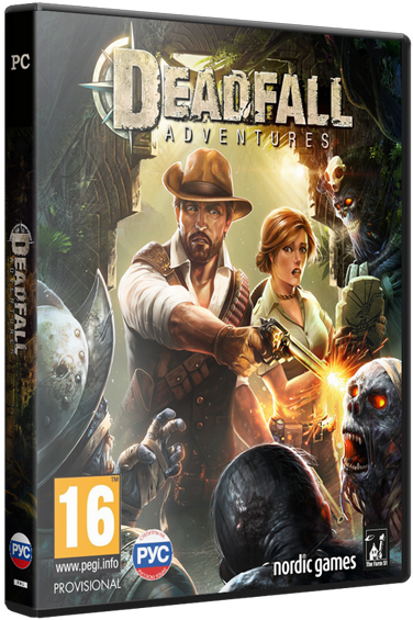 Deadfall Adventures: Digital Deluxe Edition (Update 5) [2013 / Adventure, 1st Person Shooter, 3D / RePack от z10yded]