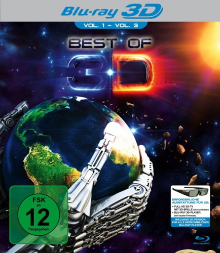 Лучшее в 3Д / 3-Definitive Collection: The Best of 3D Content Hub (3D Video) [2012 / Видовой, cпорт, анимация / BDRip 1080p / Half OverUnder]